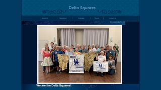 "Web site for ""Delta Squares"""