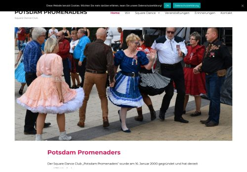 "Web site for ""Potsdam Promenaders"""