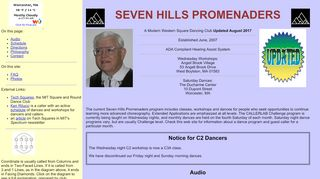"Web site for ""The Seven Hills Promenaders"""