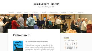 "Web site for ""Bålsta Square Dancers"""