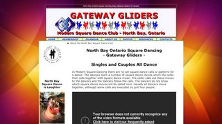 "Web site for ""Gateway Gliders Square Dance Club"""