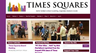 "Web site for ""Times Squares"""