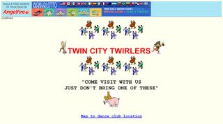 "Web site for ""Twin City Twirlers Square And Round Dance Club"""