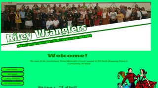 "Web site for ""Riley Wranglers Square Dance Club"""