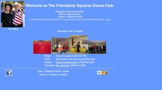 "Web site for ""Friendship Squares"""