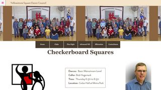 "Web site for ""Checkerboard Squares"""