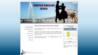 "Web site for ""Frontier Wheelers Geneva"""