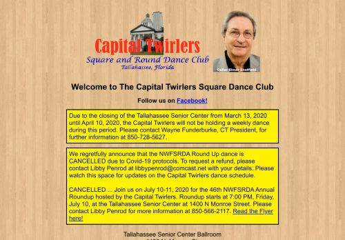 "Web site for ""Capital Twirlers"""
