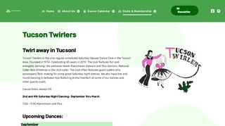 "Web site for ""Tucson Twirlers"""