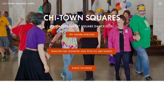 "Web site for ""Chi-Town Squares"""